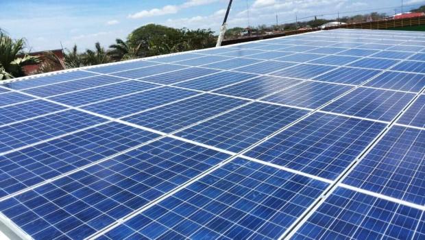 Paneles solares. Foto tomada de Audiovisual Cañas 1